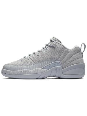 Кроссовки белые Air Jordan 12 Retro BG BG | 3875369