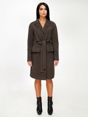 Пальто цвета хаки | 4498646