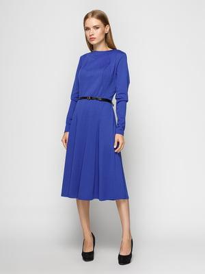 Платье василькового цвета | 4492711