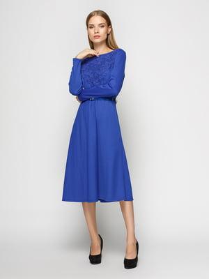 Сукня волошкового кольору | 4492667