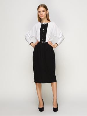 Платье черно-белое | 4492674