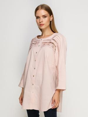 Блуза розовая | 4492642