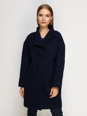 Пальто синее | 4492637
