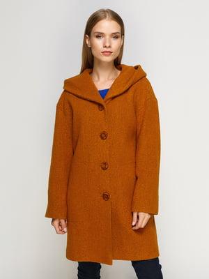 Пальто гірчичного кольору | 4492618