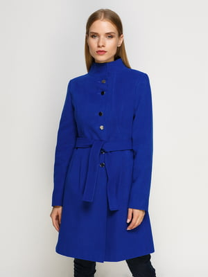 Пальто василькового цвета | 4492615