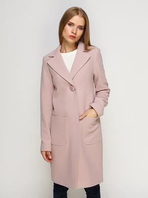 Пальто розовое | 4492628