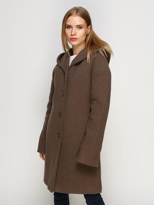 Пальто коричневое | 4492622