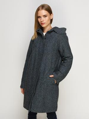 Пальто темно-синє | 4492626