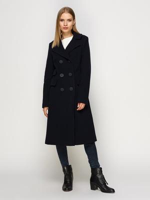 Пальто темно-синее | 4492633