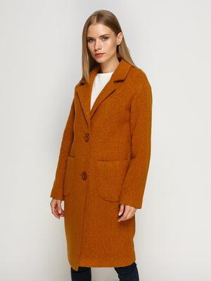 Пальто горчичного цвета | 4492604