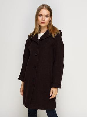 Пальто шоколадного цвета | 4492620