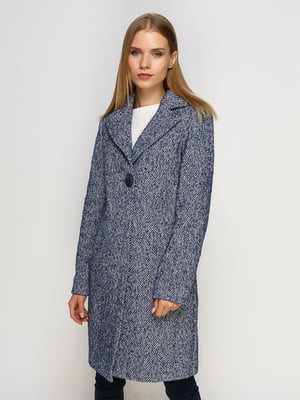 Пальто світло-синє | 4492631