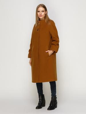 Пальто коричневое | 4492610