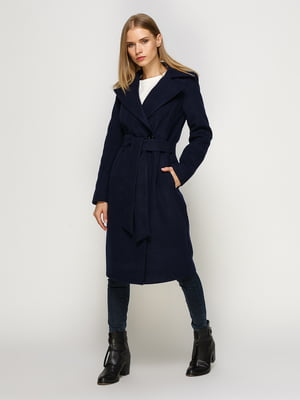 Пальто синє | 4492612