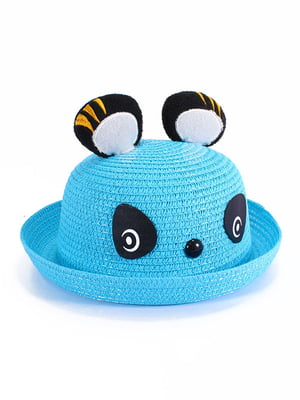 Шляпа голубая | 4498430