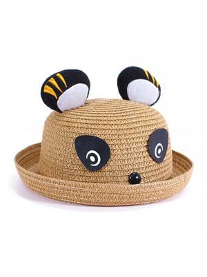Шляпа коричневая | 4498431