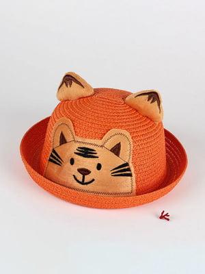 Шляпа оранжевая | 4498438