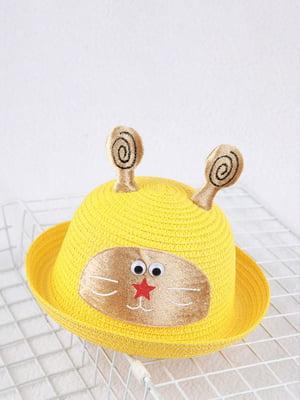 Шляпа желтая | 4498439