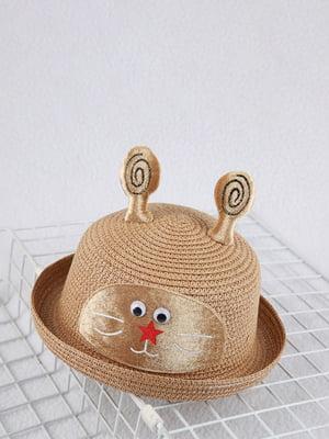 Шляпа коричневая | 4498440