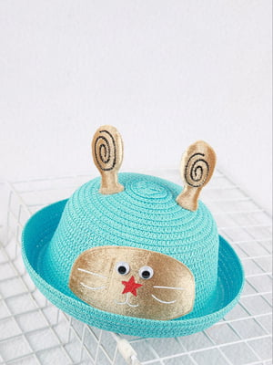 Шляпа голубая | 4498442