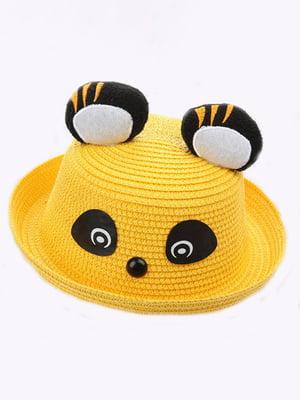 Шляпа желтая | 4498444