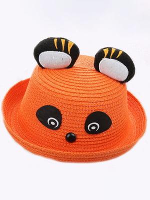 Шляпа оранжевая | 4498445