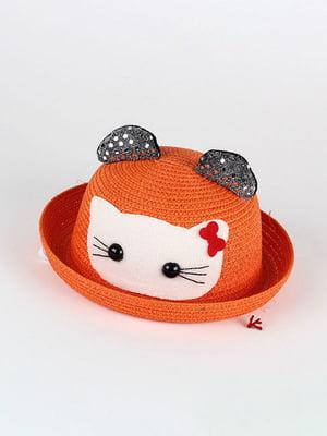 Шляпа оранжевая | 4498452