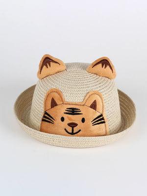 Шляпа бежевая | 4498455