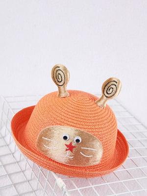 Шляпа оранжевая | 4498456