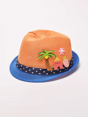 Шляпа оранжевая | 4498595