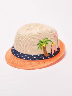 Шляпа бежевая | 4498596