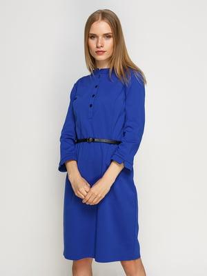 Платье василькового цвета | 4492709