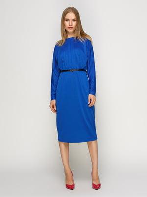 Платье василькового цвета | 4492703