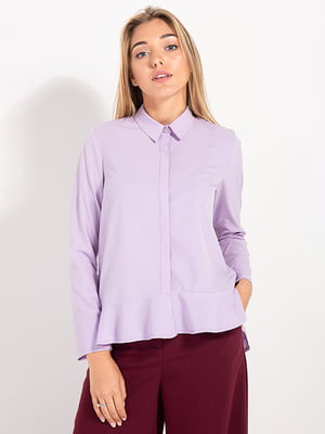 Рубашка сиреневая | 4490959