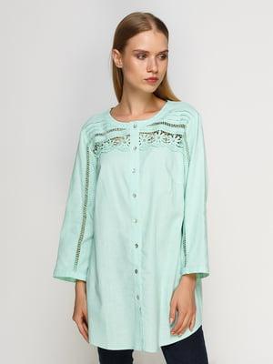 4d35b93022d Блуза мятного цвета