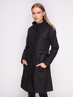 Пальто черное | 4458644