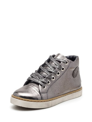 Ботинки цвета никеля | 4505096