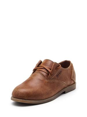 Туфлі коньячного кольору | 4505196