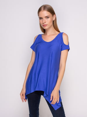 Блуза синя | 4341347