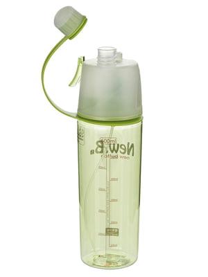 Бутылка для воды с поилкой и распылителем-Push (600 мл) | 4506641