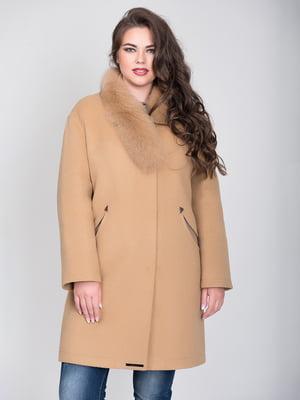 Пальто бежевое | 4466272