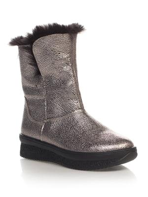 Ботинки серебристые | 4505967