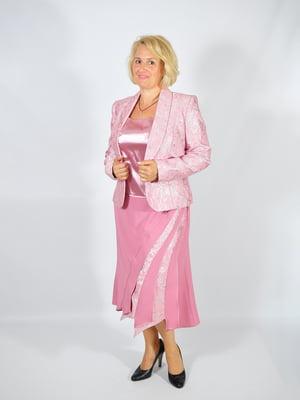 Костюм: жакет, блуза и юбка | 4507176