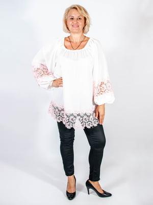 Блуза біла - Мисс мода - 4507191