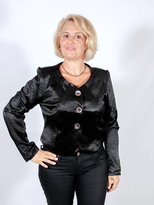 Жакет чорний - Мисс мода - 4507227