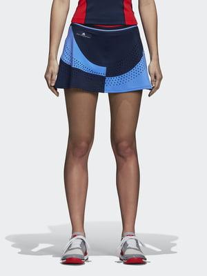 Юбка сине-голубая для тенниса | 4492555