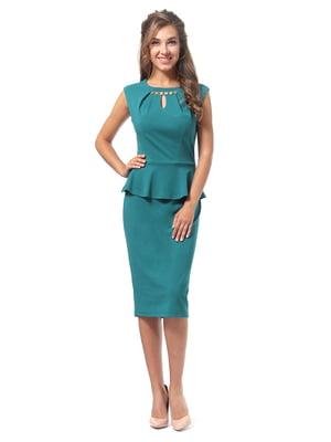 Платье бирюзовое | 4518840