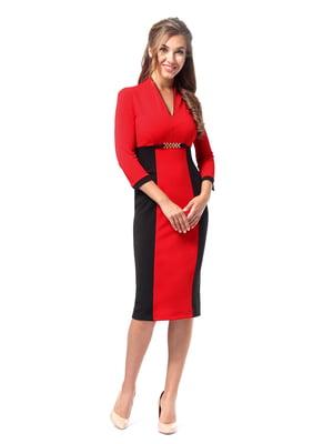 Сукня червоно-чорна   4518850