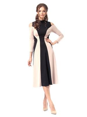 Сукня двоколірна | 4518875