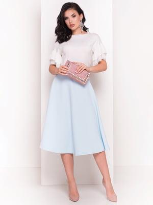 Блуза молочного цвета   4384278